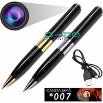 Caneta Espiã Micro Camera Escondida Hd Filma Foto Pen I 009