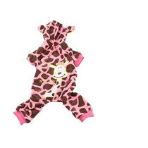 Roupa Fantasia Girafa Roupinha Pet Para Cães