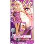 Barbie Hora Do Penteado Faz Mecha Pink Com Chapinha Na Caixa