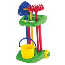 Brinquedo Kit Para Praia E Jardim Balde Pá Calesita
