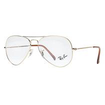 Armação Para Óculos De Grau Rayban Aviador - Frete Gratis