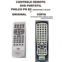 Controle Remoto Philco Dvd Portatil Ph B2 Adventure Ii Black