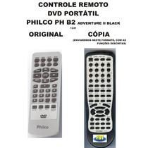 Controle Remoto Philco Dvd Portatil Ph B2 Adventure Ii Black