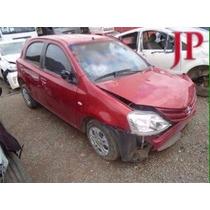 Sucata Toyota Etios 2013- Peças