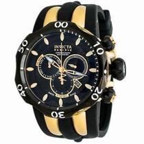 Relógio Invicta Reserve Venon Modelo: 13917 Pulseira Em Sili