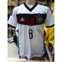 Camisa Da Alemanha Branca 2014 Support Jogador Frete Grátis