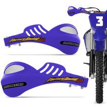 Protetor Mao Pro Tork 788 Universal Motocross Azul Enduro