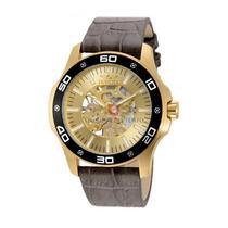 Lindo Relógio Invicta Specialty 17262 Banhado À Ouro 18k