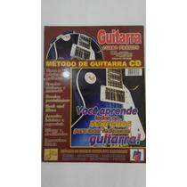 Método De Guitarra Com Cd Com A Corda Toda