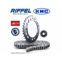 Kit Transmissão (relação) Riffel Kmc 50z 14z - Honda Xlr 125