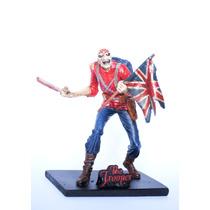 Eddie Trooper - Iron Maiden - Estatueta Em Resina