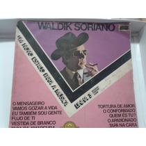 Lp - Vinil - Waldik Soriano - Um Novo Espaço Para A Musica