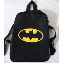Mochila Bolsa Batman Peppa George Homem Aranha Lalaloopsy
