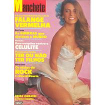 Manchete - 1983 - Bruna / Cynira Arruda / Fafá / Niemeyer