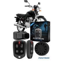 Alarme Moto Positron Fan 125 Especifico Doublok