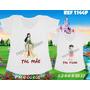 Camisetas Tal Mãe Tal Filha Princesas Mulan / Cinderela