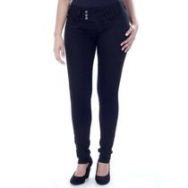 Calça Jeans Sawary Feminina Levanta Bumbum Skinny