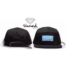 Bonés 5 Panel - Diamond Supply - Hip Hop - Snapback