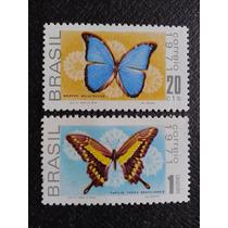 Selos Borboletas - Fauna Brasileira/1971 - C.695-96
