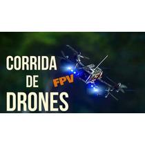 Chassi Race Drone - 4 Motores E 4 Speed - Quadricoptero Fpv