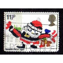 Inglaterra 1981 * Natal * Papai Noel