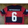 Camisa Flamengo Usada Jogo Numero 6 Tamanho M