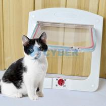 Porta Para Gatos E Cães - Controle De Fluxo 4 X 1