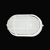 Luminária Tartaruga Grande Em Alumínio Branco