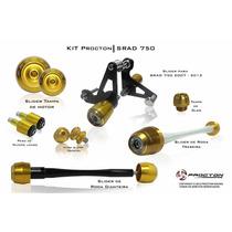 Kit Slider Procton Suzuki Srad750 - 2007 A 2014 - Completo
