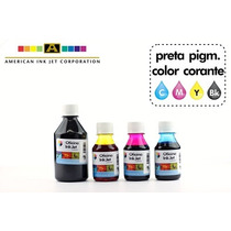Tinta Hp 4625-4615/k8600/série Designjet - Kit 4 Cores 550ml