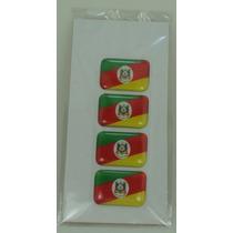Bandeira Rio Grande Do Sul Tarjeta Adesivo Placa 2,3 X 1,6cm
