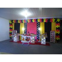 Kit Cortinas Decorativas Para Festas 2 M X 6 M