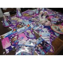 Kit Festa Decoração Frozen Especial 24 Crianças