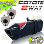 Escape Ponteira Coyote Trs 2 Way Cg 125 Fan 2014 Preto Black