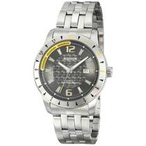 Relógio Masculino Magnum Analogico,pulseira De Aço