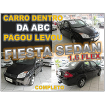 Fiesta Sedan 1.6 Flex Ano 2008 Completo - Seminovo Impecável