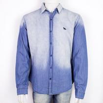 Camisa Jeans Acostamento Manga Longa 68101039