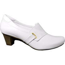 Sapato Branco Enfermagem Padrão Nr-32 Feminino