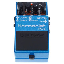 Pedal Boss Ps-6 Harmonist Pitch Shifter Ps 6