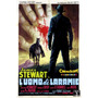 James Stewart Faroest Cavalo Itália Filme Poster Repro