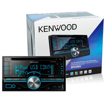 Cd Player 2 Din Kenwood Dpx300u Usb/aux - Design + Arrojado