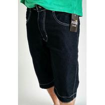 Bermuda Masculina Jeans Patrão Jean$ Original Oferta Shorts