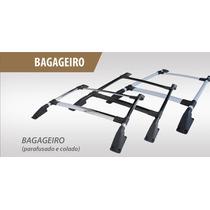 Bagageiro De Teto Rack Scenic Preto/ Prata Parafuso/colado