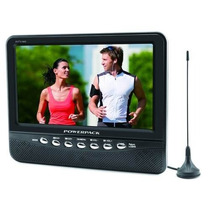 Tela Monitor Lcd Powerpack Avtv-940 Tv 9 Polegadas C/ Antena