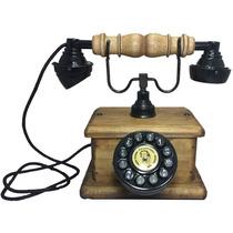 Telefone Antigo Vintage Retro Nelphone Lord Imbuía