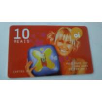 Cartão Telefônico Xuxa Oi
