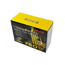 Fonte 750w Real Modular Akasa Venom 80plus Pfc Ativo Atx