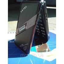 Celular Flip Yxtel 2 Chips Visor Bluetooth Cam Gold Idosos