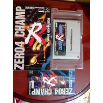 Zero 4 Champ Rr Super Famicom, Original Completo.