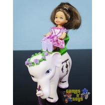 Kelly E Elefante Tika Filme Barbie Princesa Da Ilha Mattel